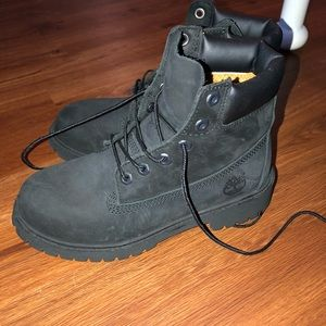 Black womens timberlands